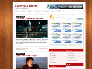 Wordpress тема оформления mag-essentials