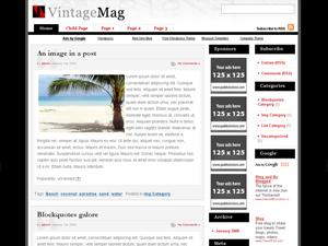 Wordpress тема оформления vintage-mag-10