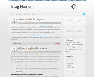 Wordpress тема оформления grey100-10